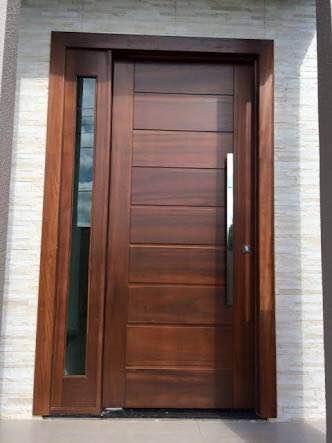 Porta de Madeira Maciça Ipe